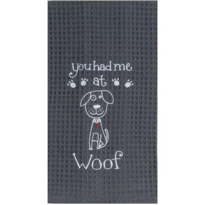 You Had Me at Woof Towel