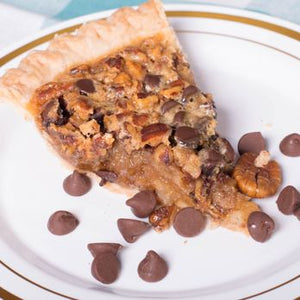 Nutty Chocolate Chip Pie 6""