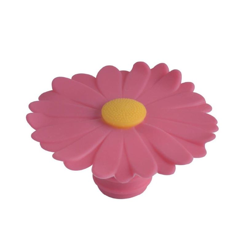 Silicone Wine Cork - Daisy (Choose from 4 Colors)