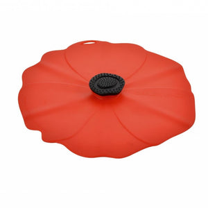"Poppy 9"" Silicone Lid"