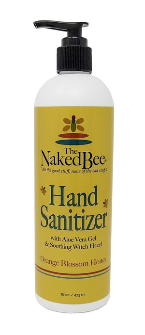 Naked Bee Orange Blossom Honey Hand Sanitizer - 70% Alcohol
