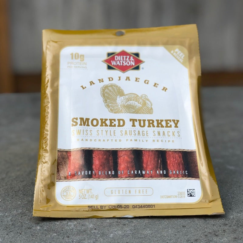 Smoked Turkey Landjaeger Sticks