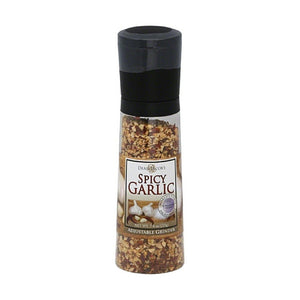 Spicy Garlic Grinders