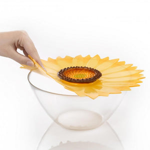 "Sunflower 11"" Silicone Lid"