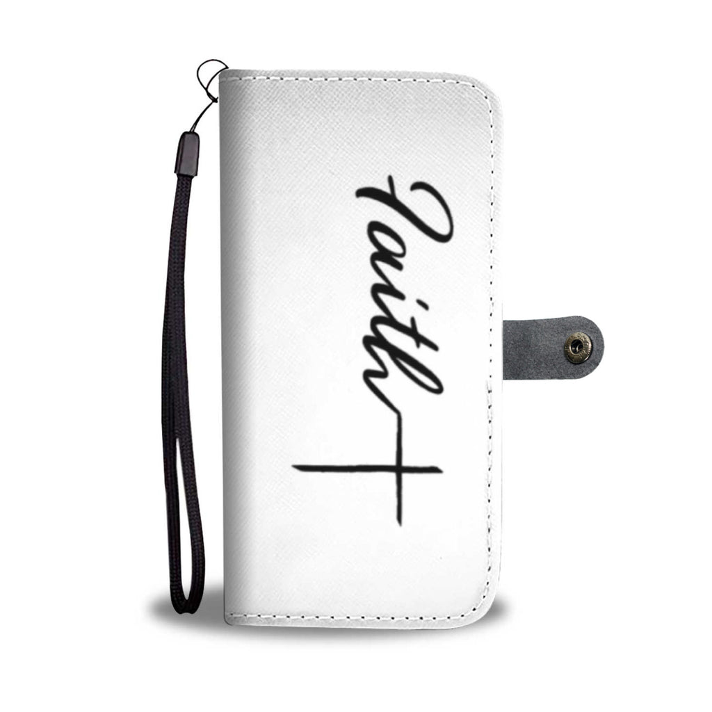 Faith and Cross Wallet Phone Caes
