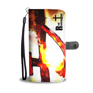 The Passion (Abstract) Wallet Phone Case