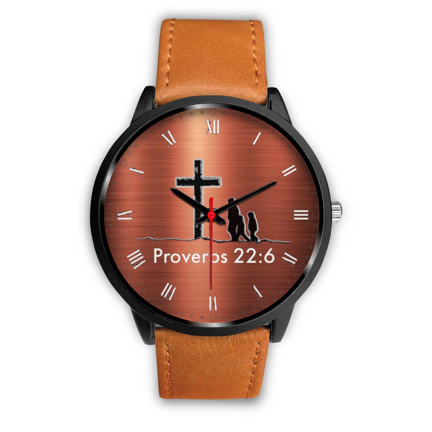 Proverbs 22:6 Watch (Cooper Colored Face)