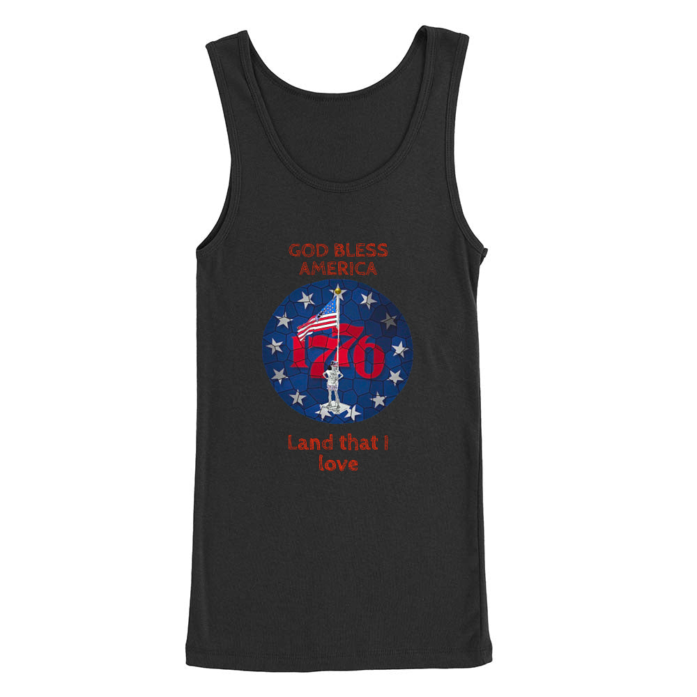 American Girl Women's Tank Top (Black or Navy)