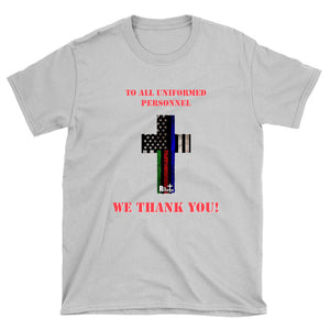 Hero Flag Cross T-shirt (light colors)