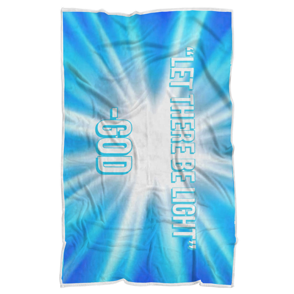 Let There Be Light Sherpa Blanket