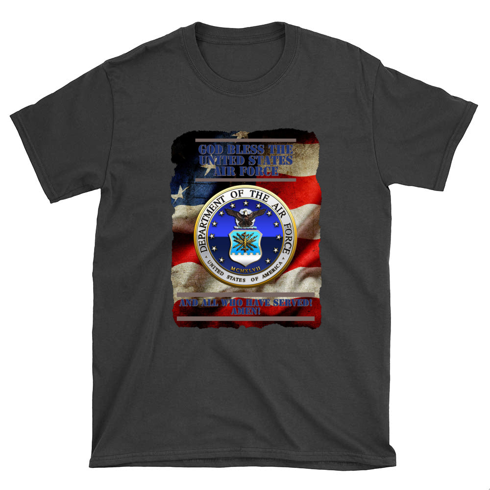 God Bless US Air Force (see all colors)