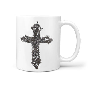 Thorn Cross Mug (Colossians 1:13-14)