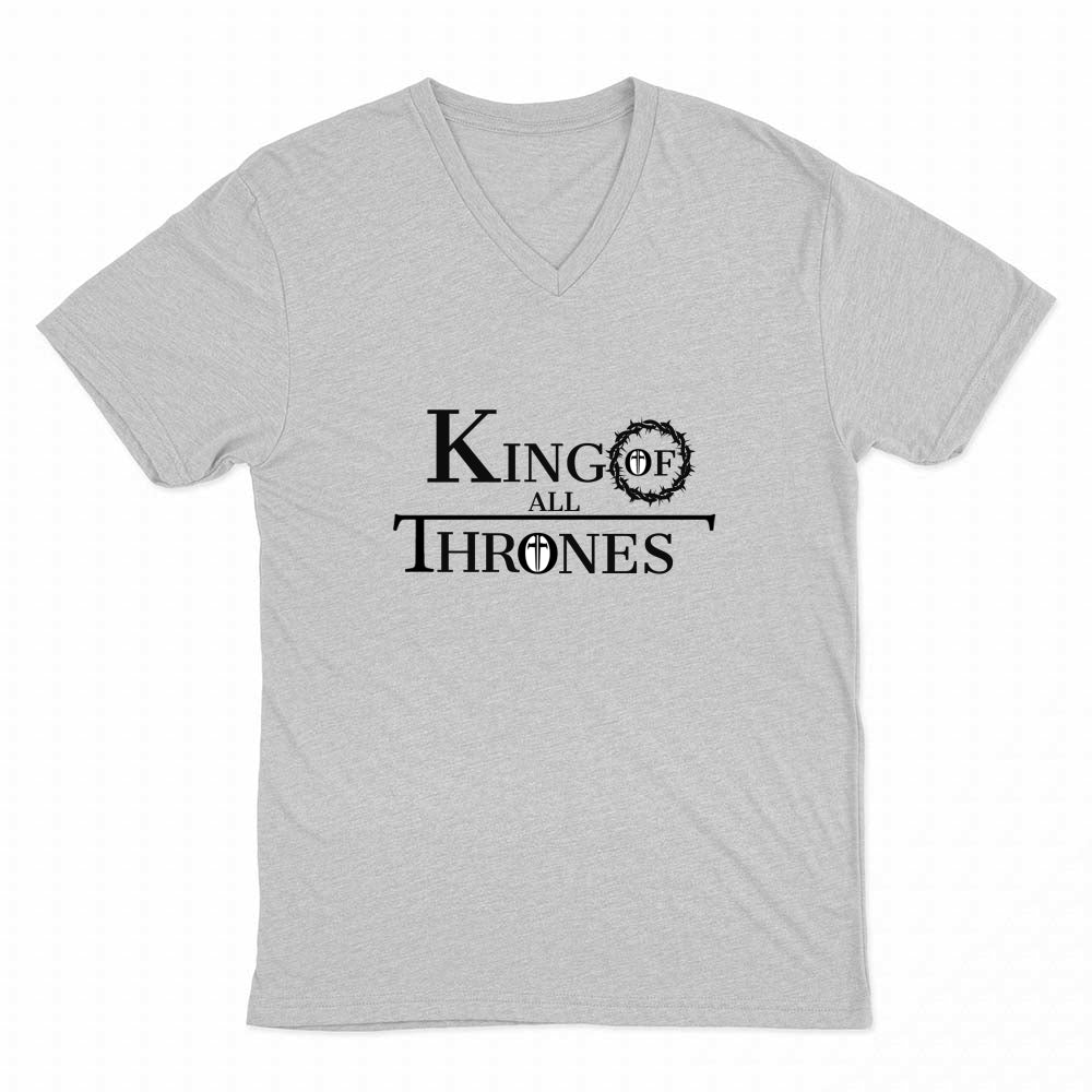 King of All Thrones Men's V-neck