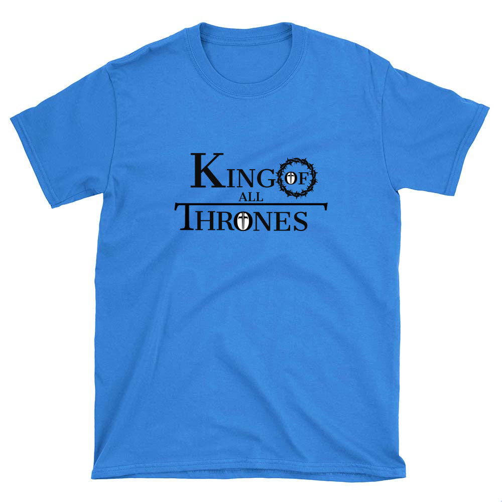 King of All Thrones Men's T-shirt (see all colors)