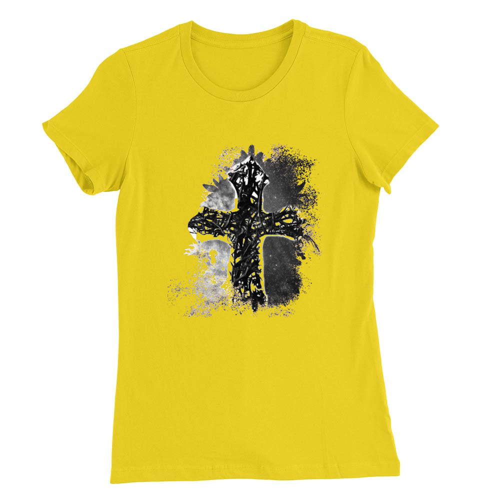 Thorn Cross Abstract Women's T (see all colors)