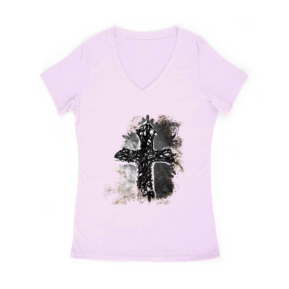 Thorn Cross Abstract Women's V-neck (See all)