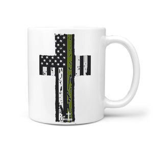 Military Hero Cross Mug