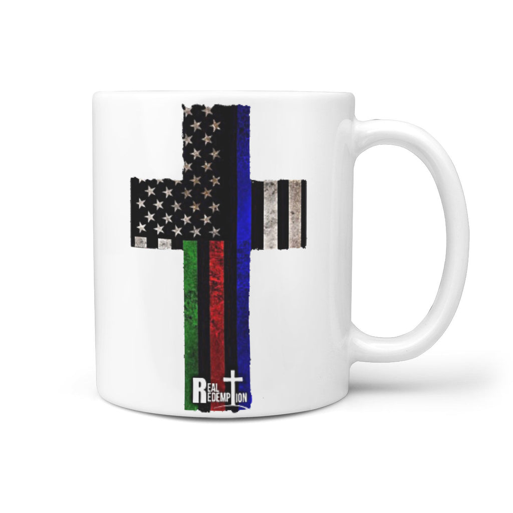 Hero Flag Cross Mug