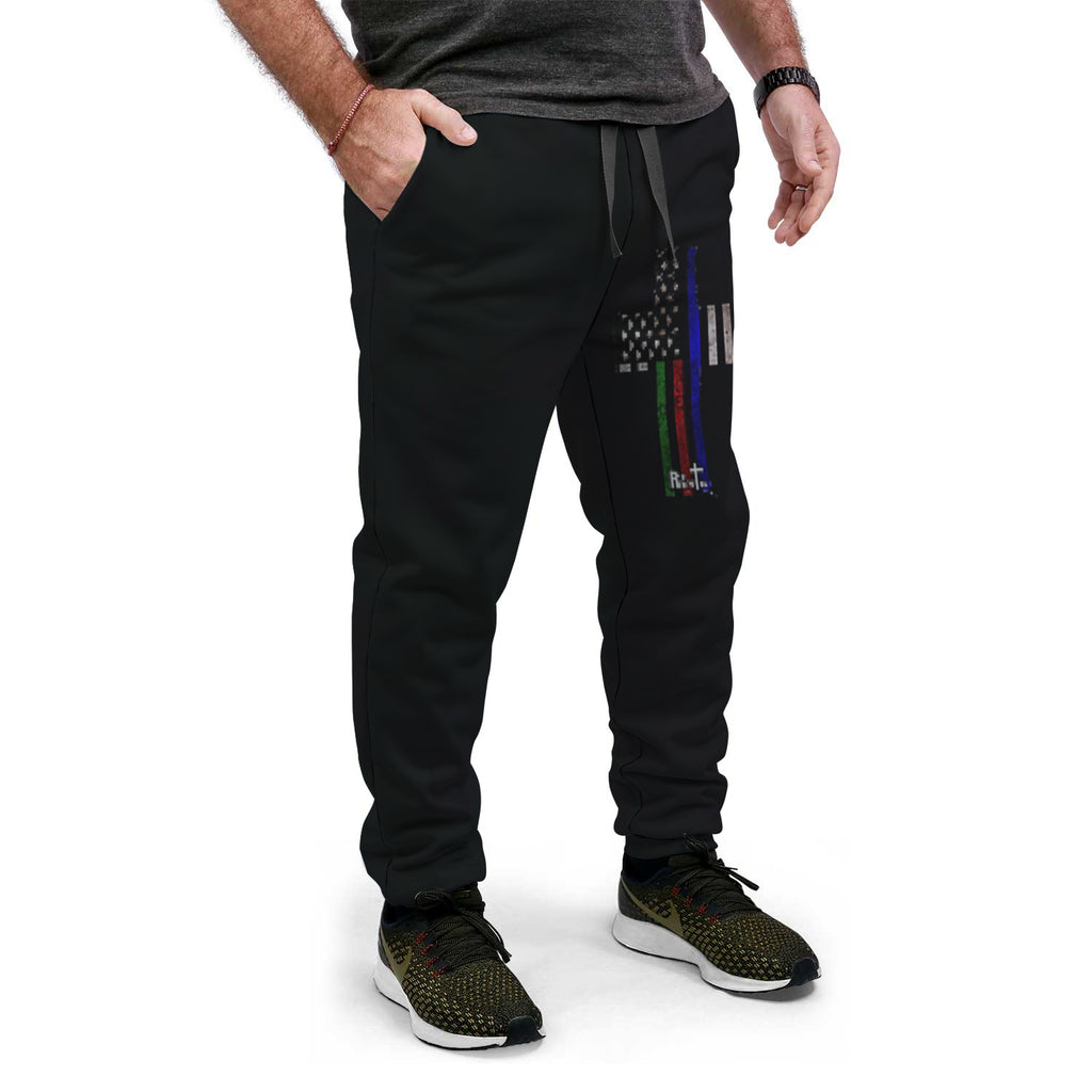 Hero Flag Cross AOP Jogger