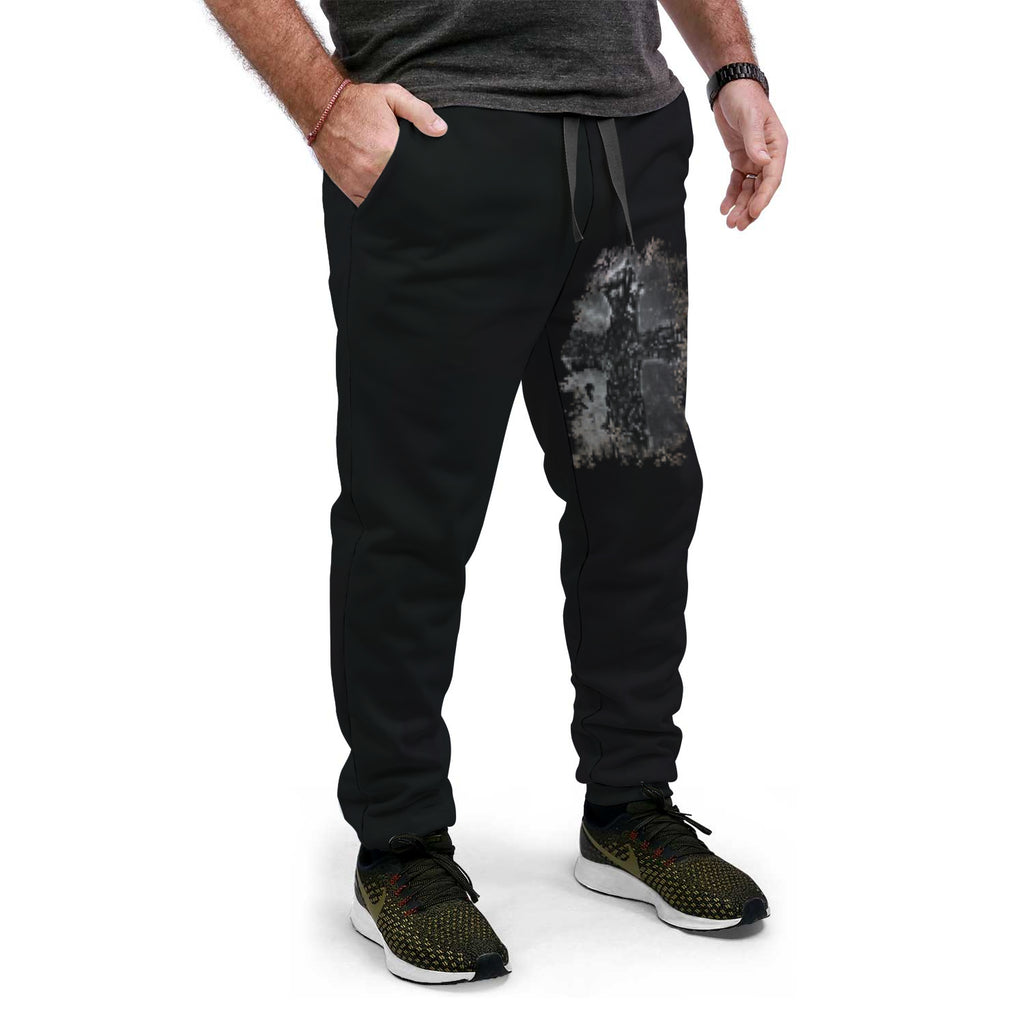 Thorn Cross Abstract AOP Jogger