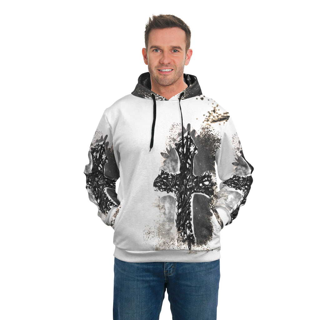 Thorn Cross Side Pocket Hoodie