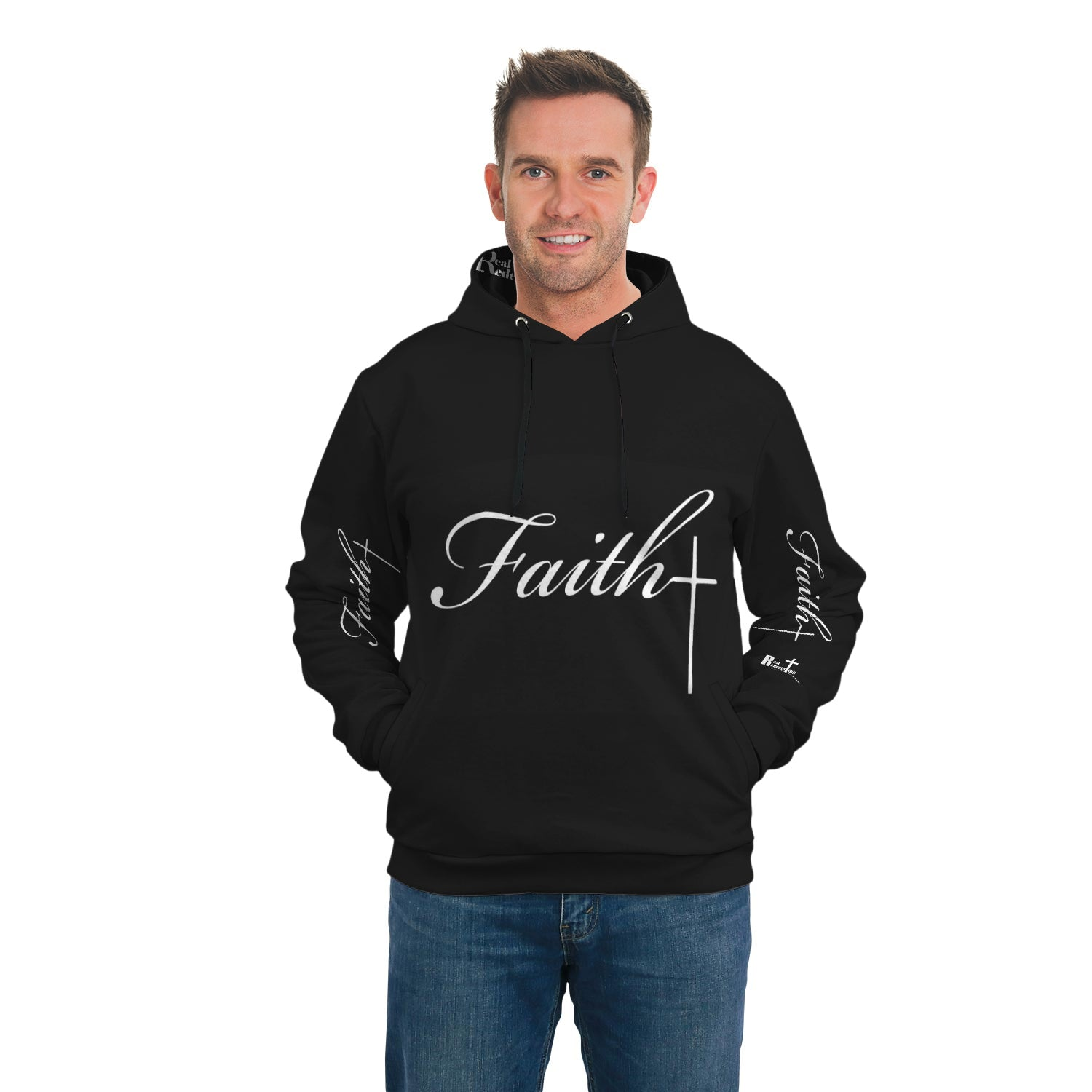 Faith Cross Side Pocket Hoodie