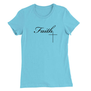 Faith Cross 2 women's T-shirt (Black)