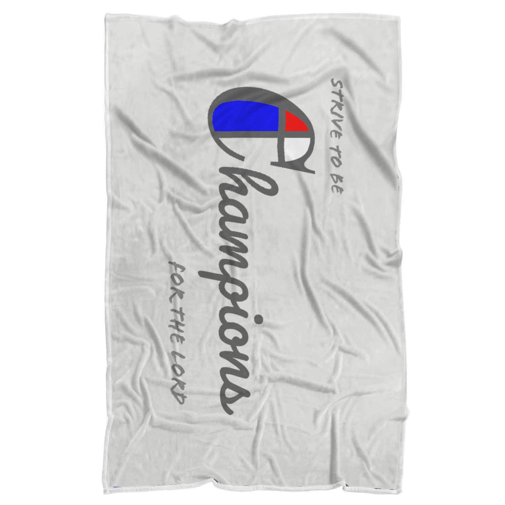Champions Sherpa Blanket
