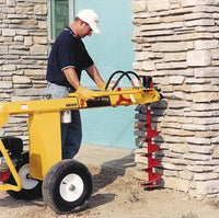 HD99 - Ground Hog Inc Honda Powered Towable Hydraulic One-Man Earthdrill Auger