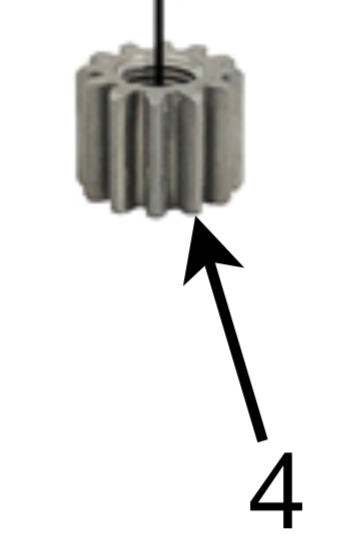 Model ONE Pinion Gear