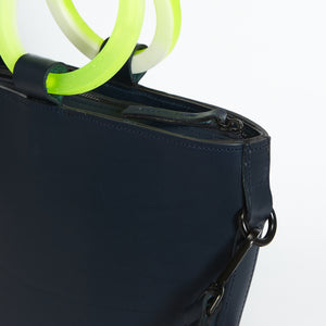Mini Elwin Hoopla! Navy & Neon