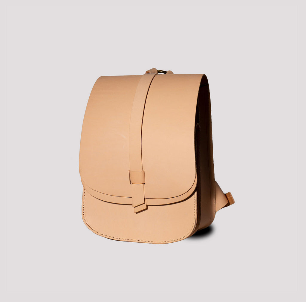 Small Arlington Rucksack Natural