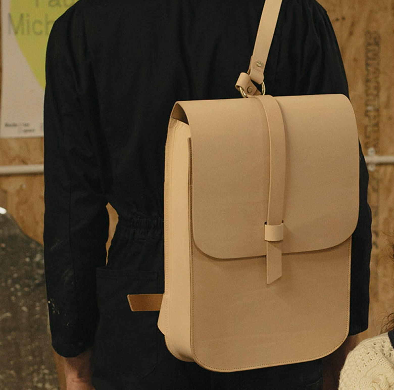 Large Arlington Rucksack Natural