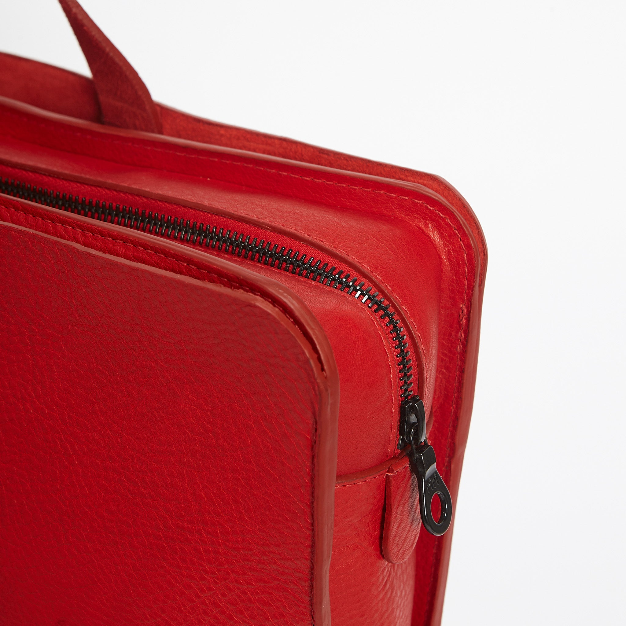 Cubitt Briefcase Red