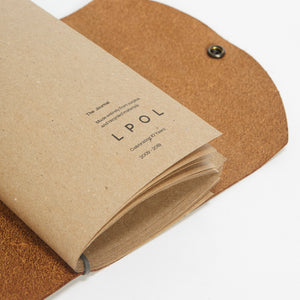 Journal Tan Suede