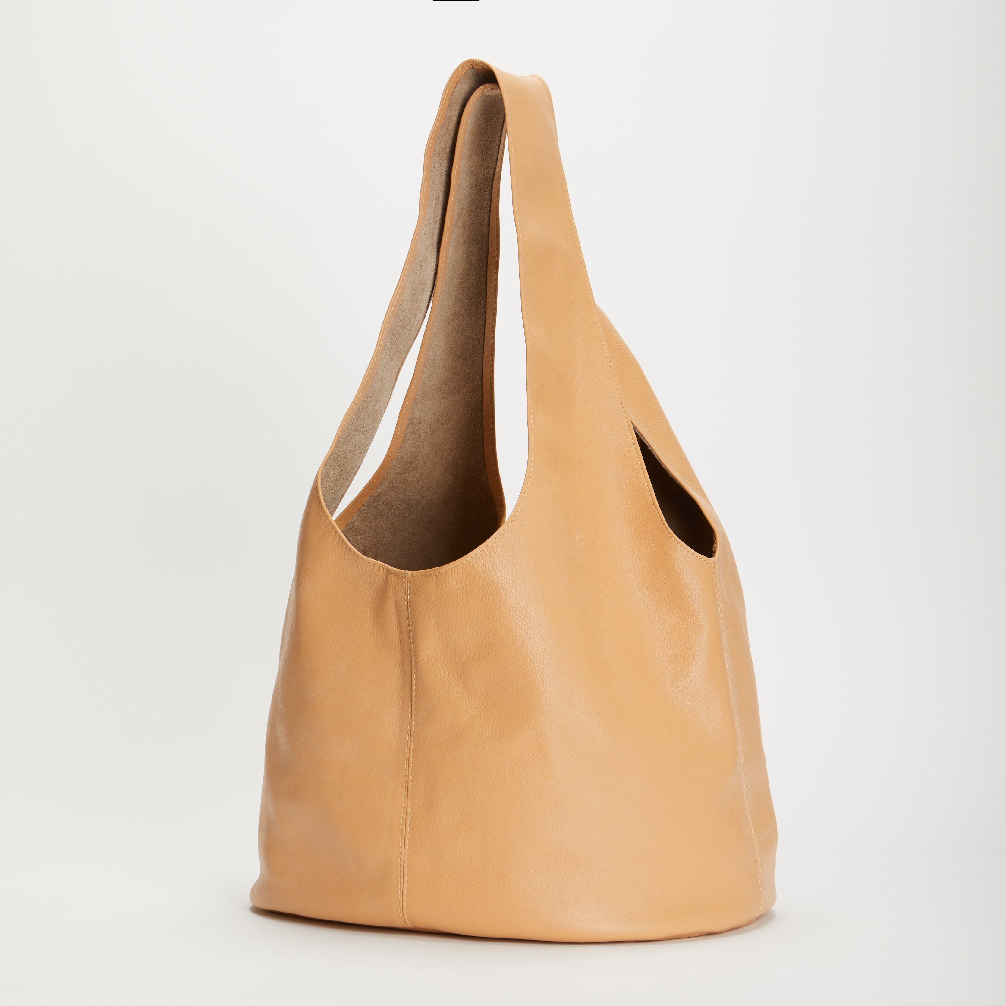 Penrose Soft Leather Handbag Natural