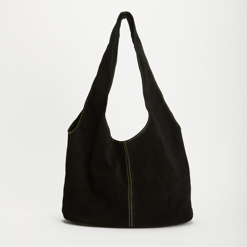 Penrose Soft Suede & Leather Handbag