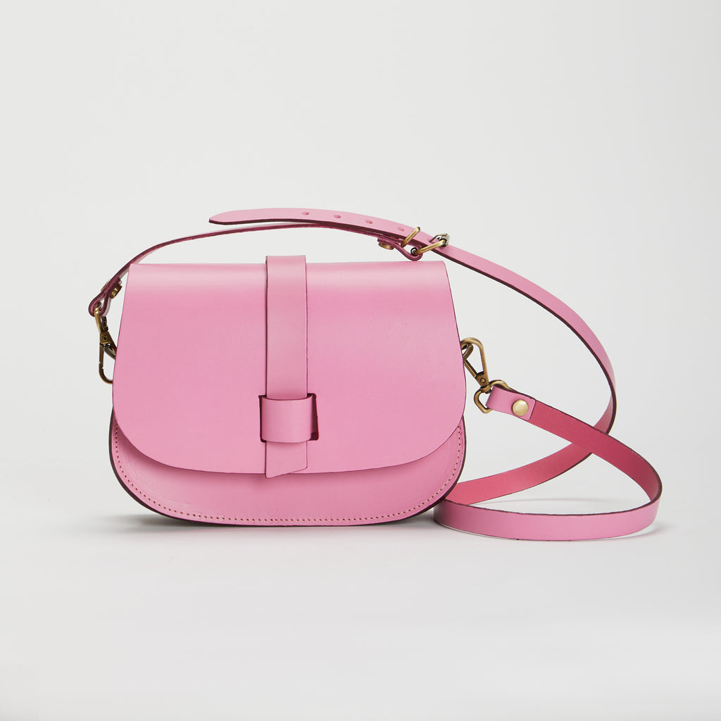 Micro Arlington Handbag Rose and Berry