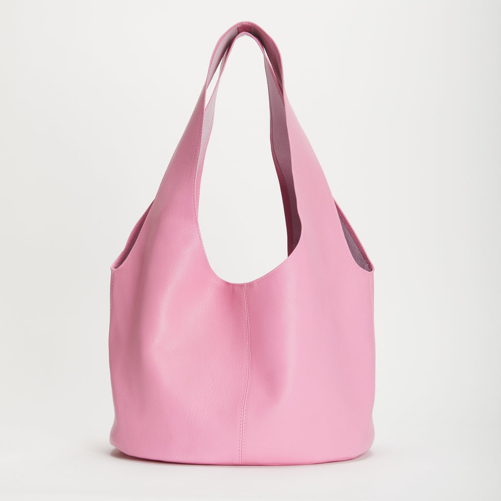 Penrose Soft Leather Handbag Rose