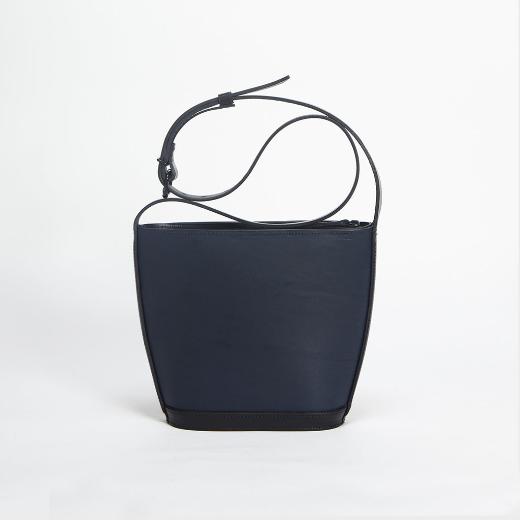 Mini Elwin Handbag Navy & Black