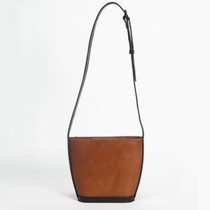 Mini Elwin Handbag Tan & Black