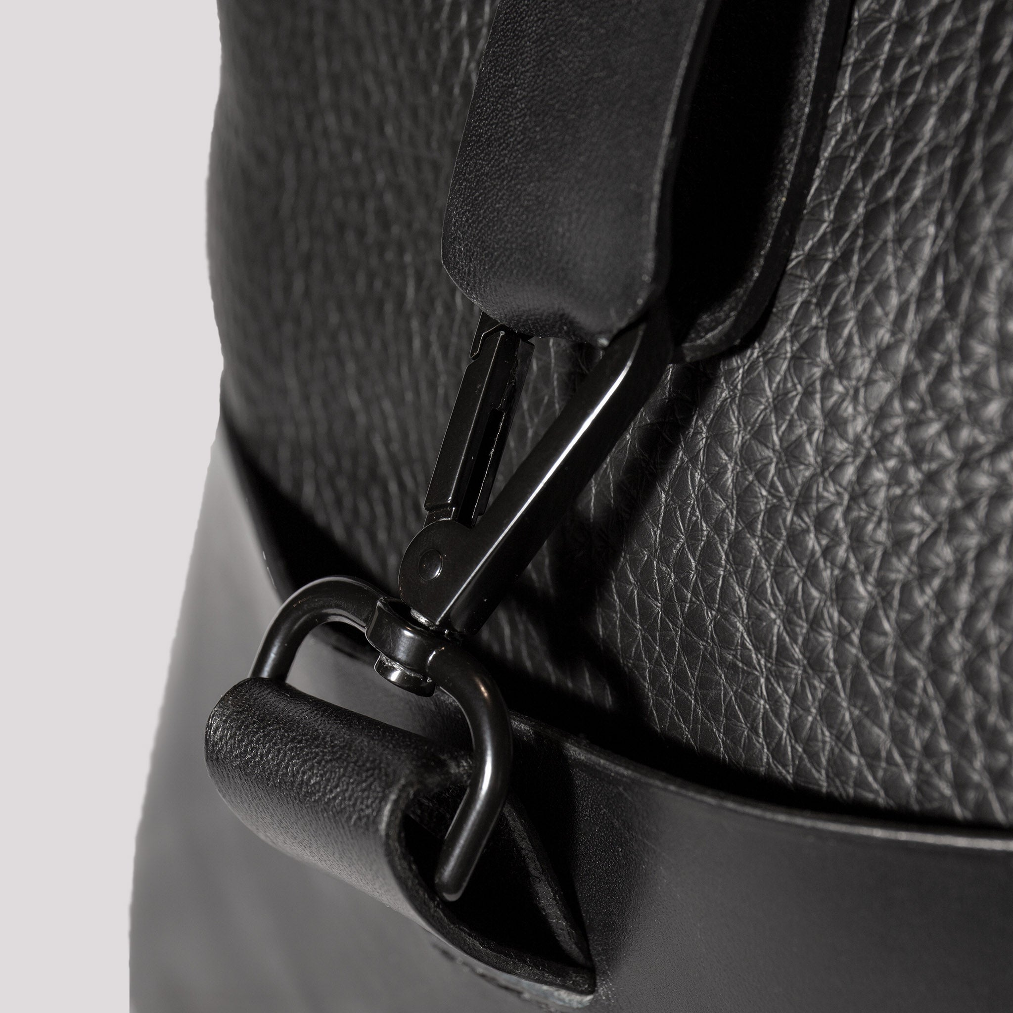 Rivington Leather Rucksack Black