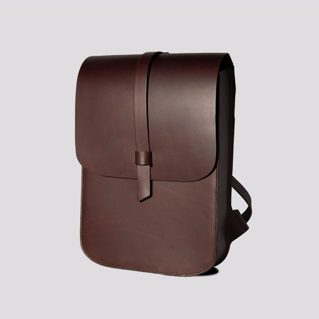 Large Arlington Rucksack Chocolate Brown