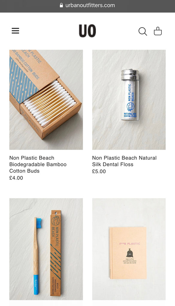 New Non Plastic Beach Stockist - Urban Outfitters