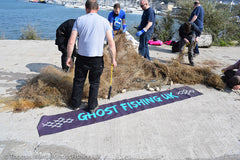 Ghost Fishing UK Recovering Lost Fishing Nets in Plymouth UK