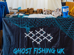 Ghost Fishing UK Winter Warmer Event Featured Talks, Training and Sales of products, including Non Plastic Beach to raise funds.