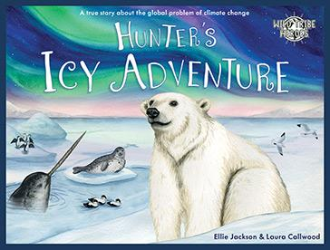 Hunter's Icy Adventure - Children's Book