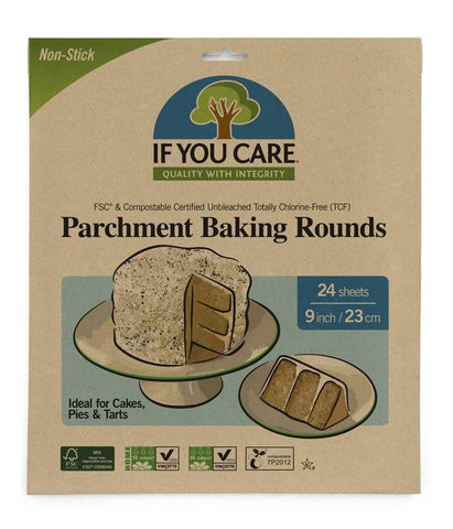 If You Care Compostable Baking Rounds - 24 pack