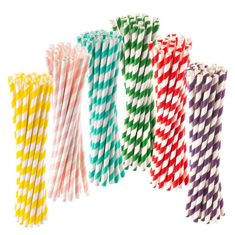 Paper Straws - 150 pack