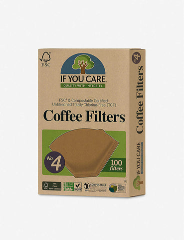 If You Care Compostable Unbleached Coffee Filters